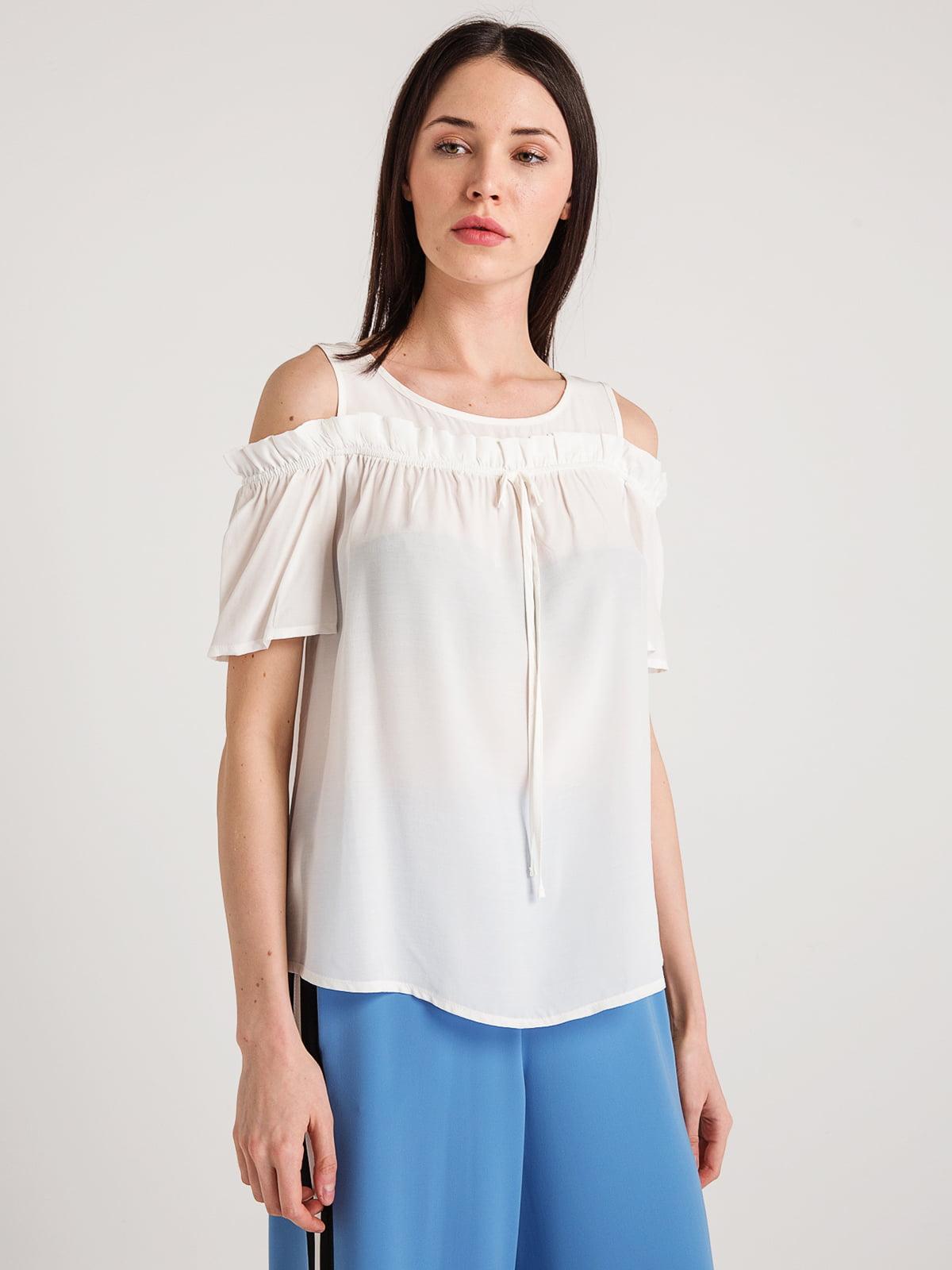 Блуза молочного цвета | 4194680