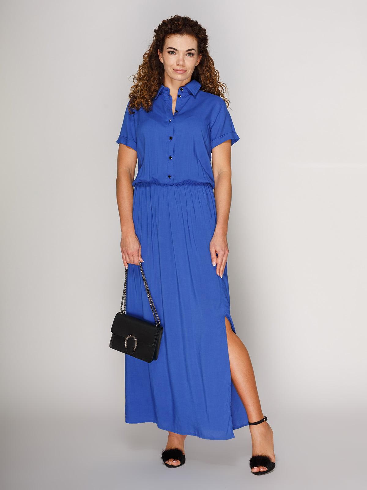 bf8ef128f0e Платье в пол цвета электрик — Marc Vero Maxxi