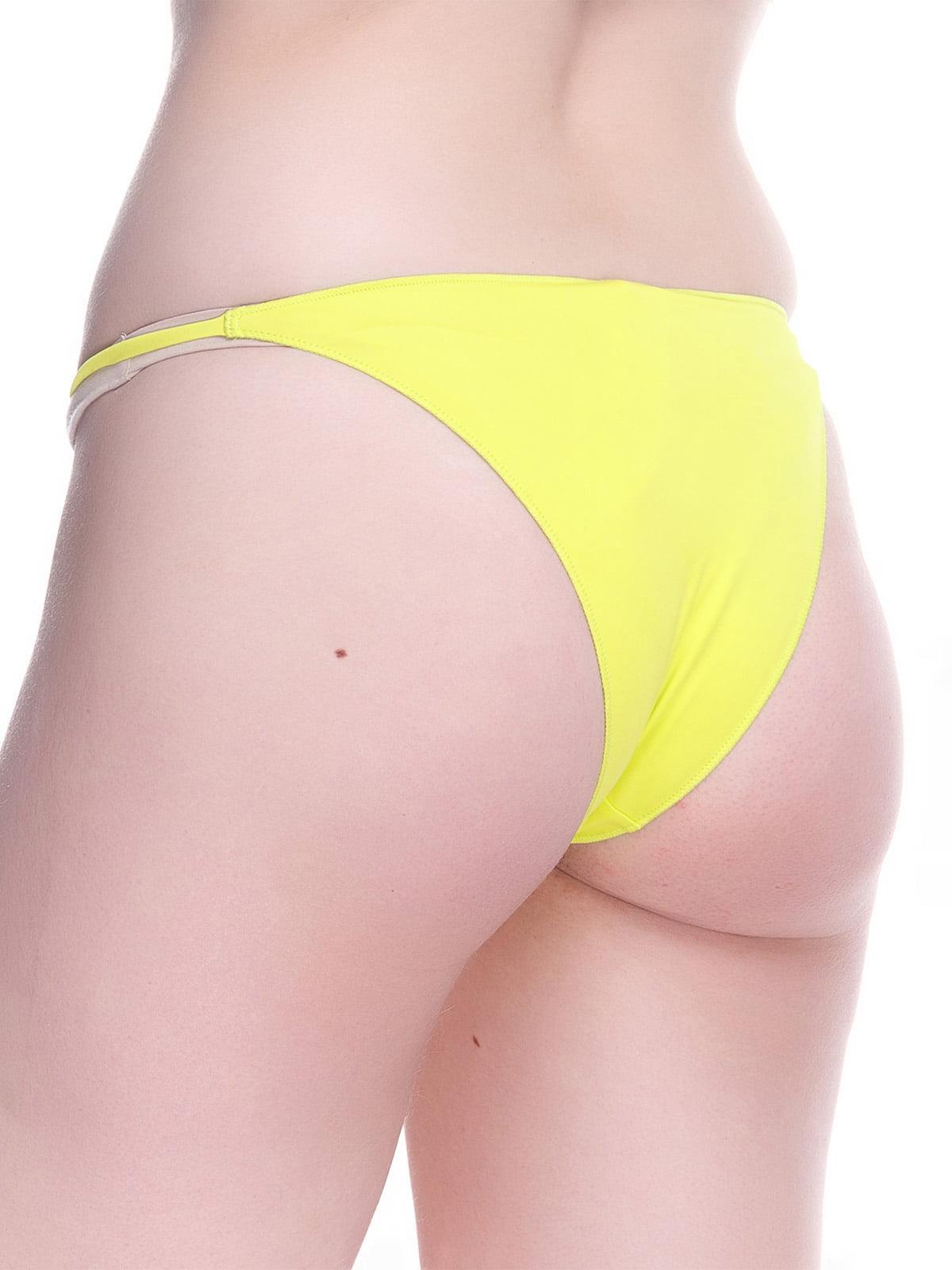 Труси жовті купальні | 4180288 | фото 2