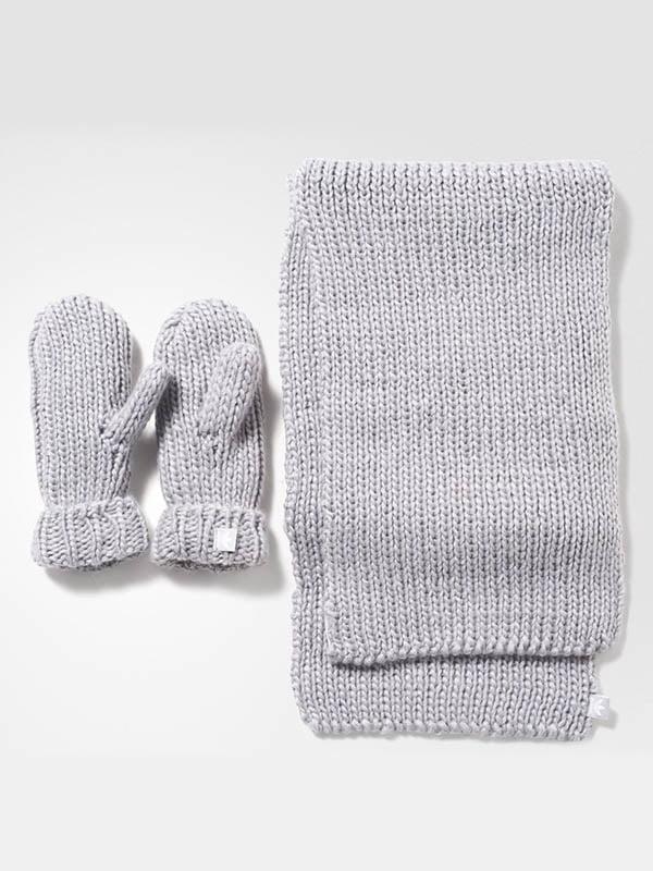 Комплект: шарф и рукавицы | 4103970