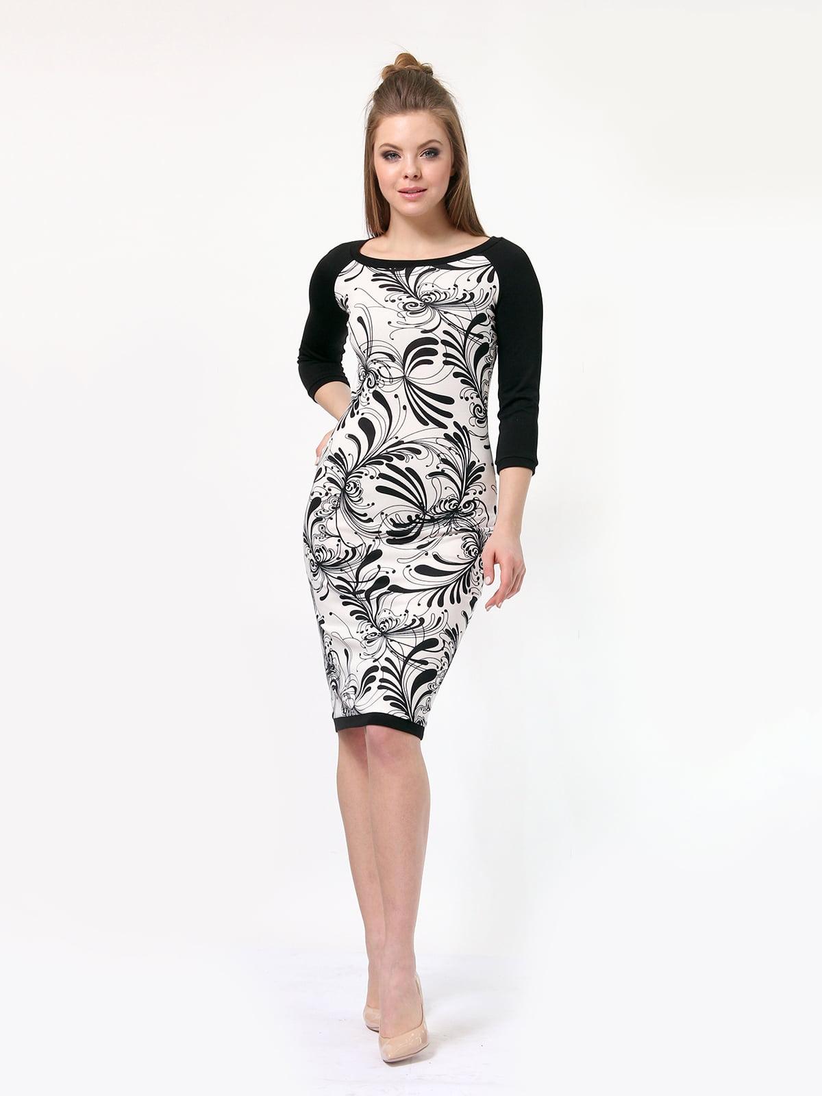 Платье в принт | 4182861