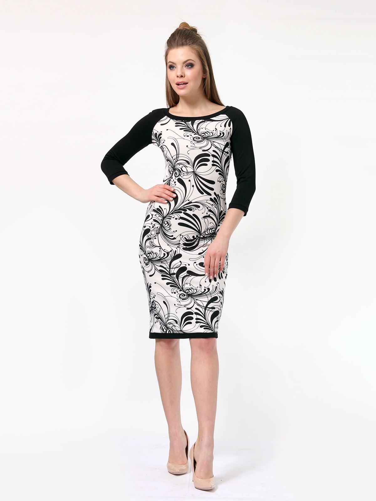 Платье в принт | 4182861 | фото 2
