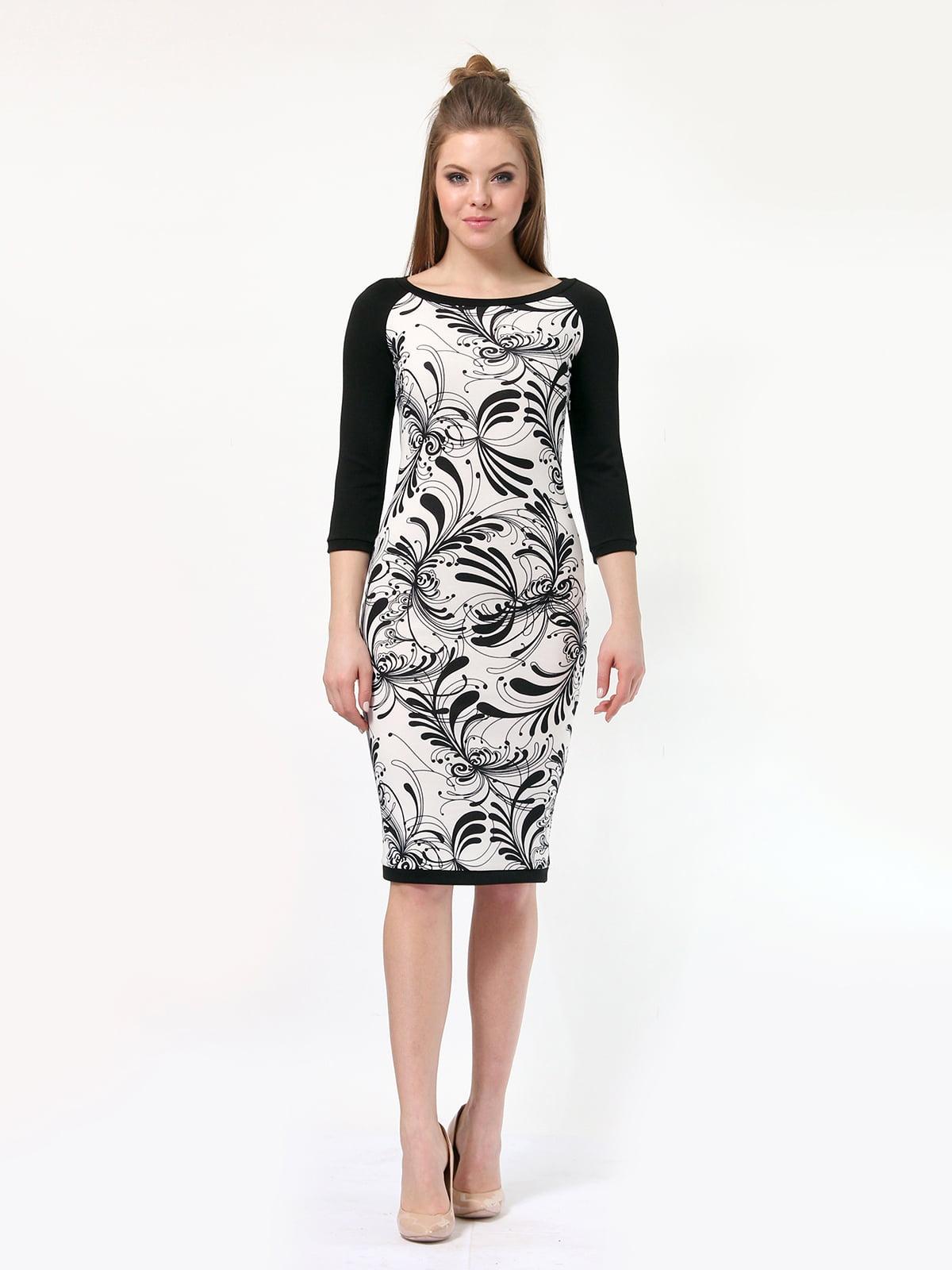 Платье в принт | 4182861 | фото 3