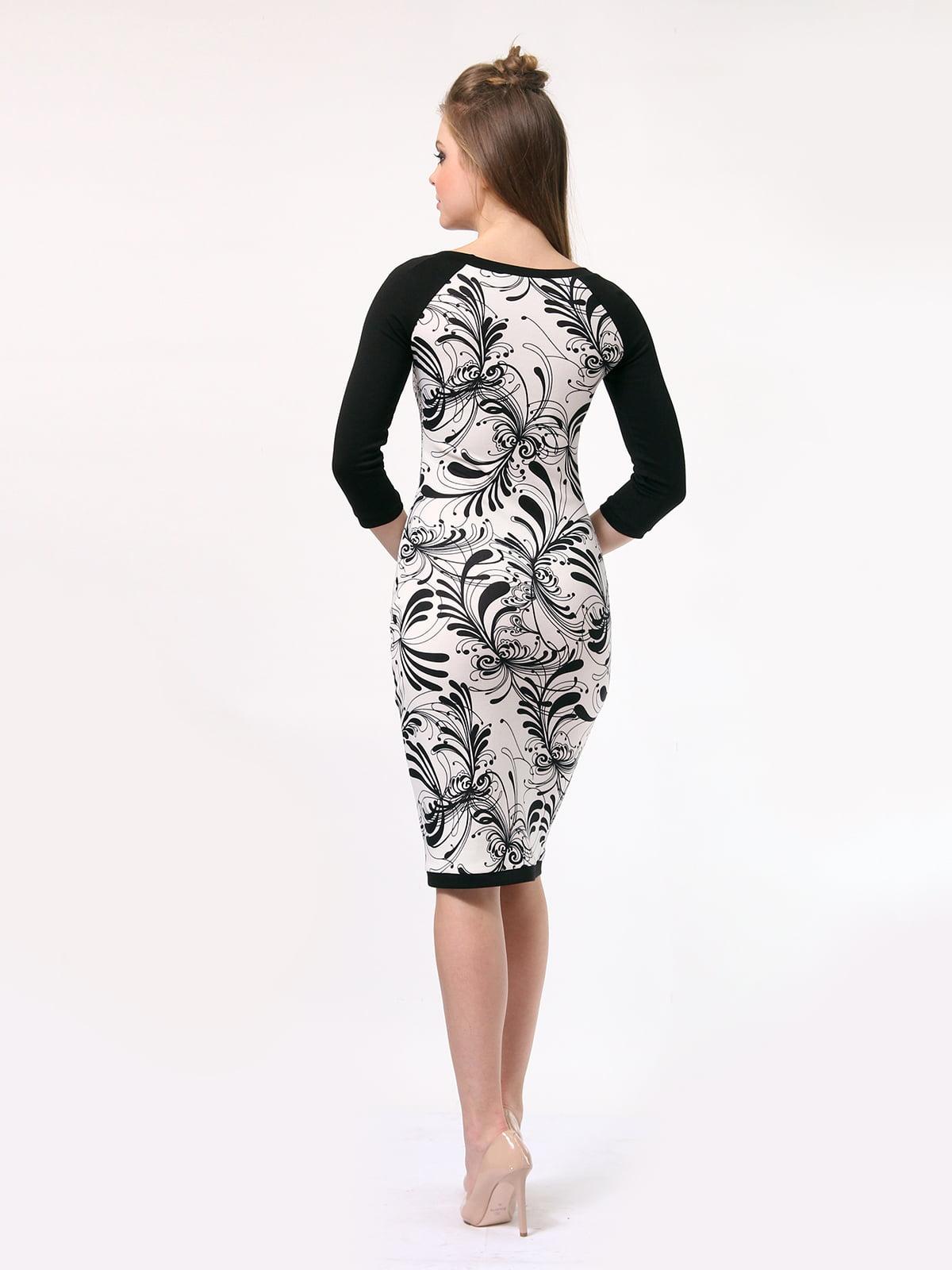 Платье в принт | 4182861 | фото 4
