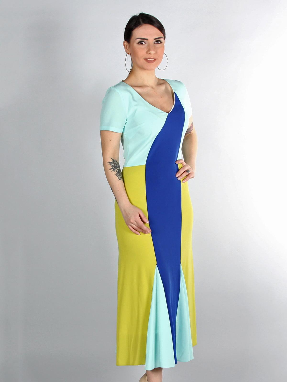 Сукня триколірна | 4197230