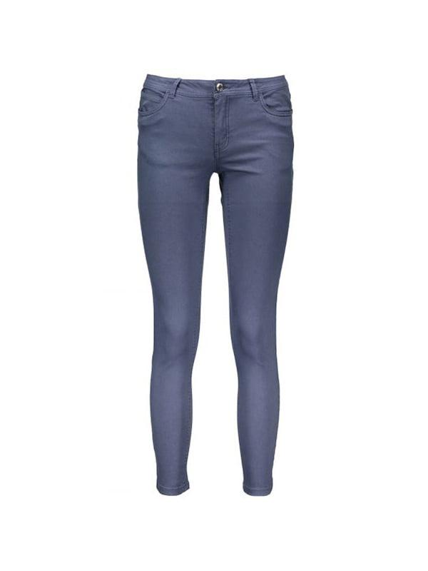 Брюки джинсового цвета   4136452