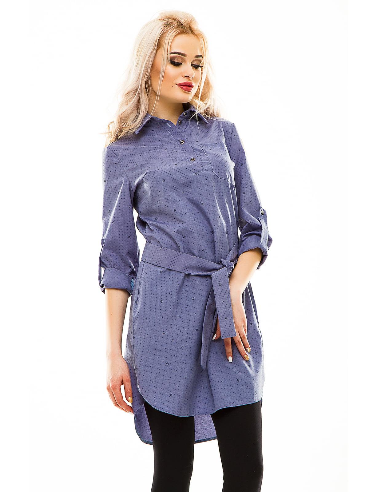 Рубашка-туника серая   4201121