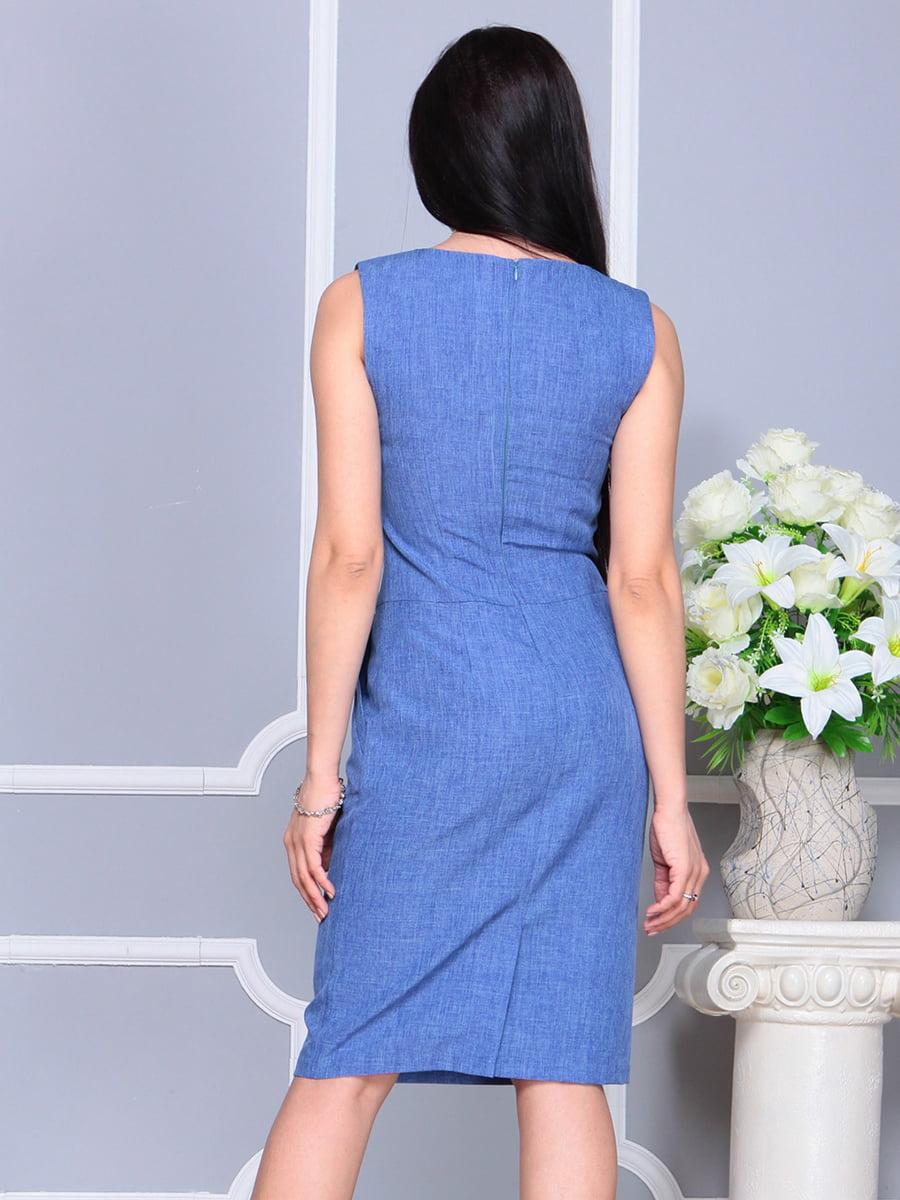 Платье синее | 4201129 | фото 2