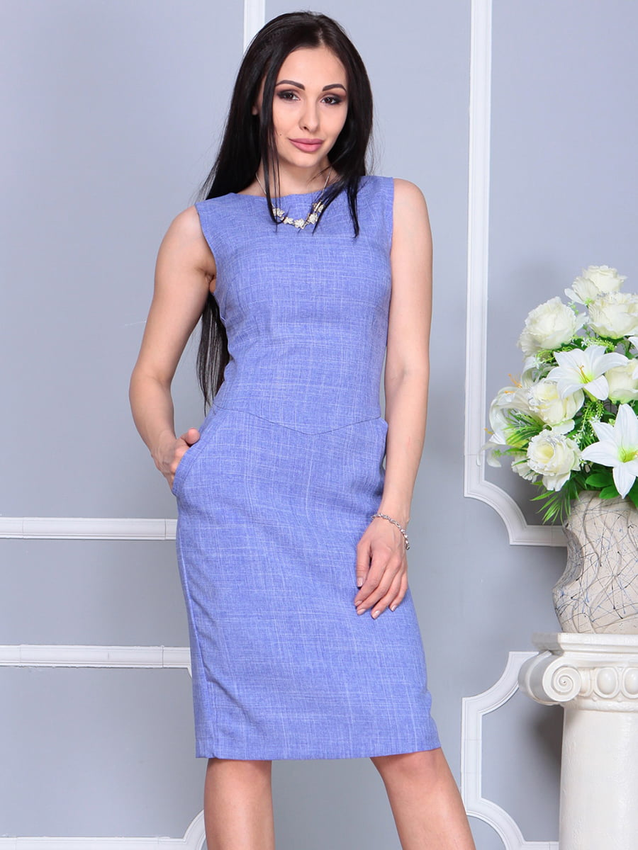 Платье фиолетовое | 4201130