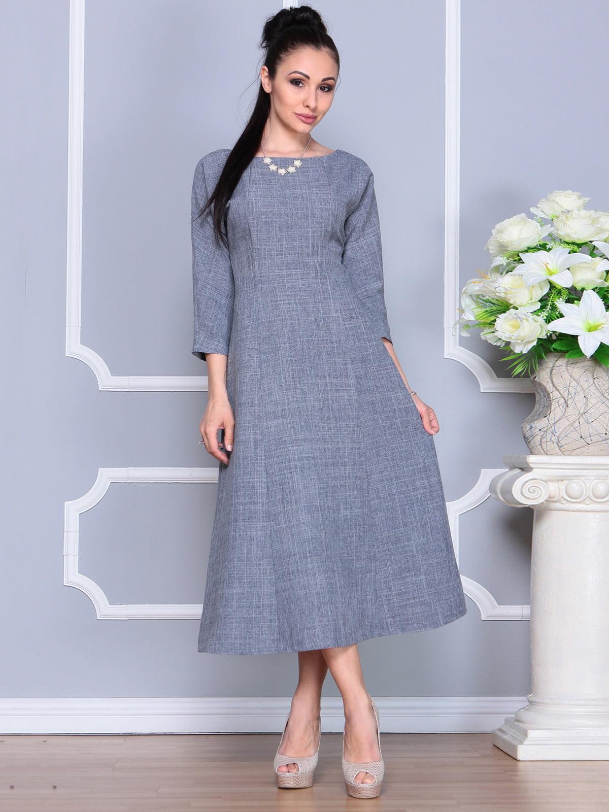 Платье дымчатого цвета | 4201134