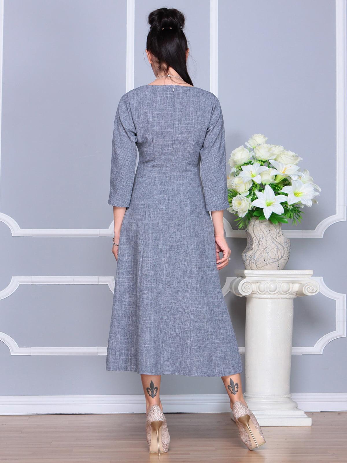 Платье дымчатого цвета | 4201134 | фото 2