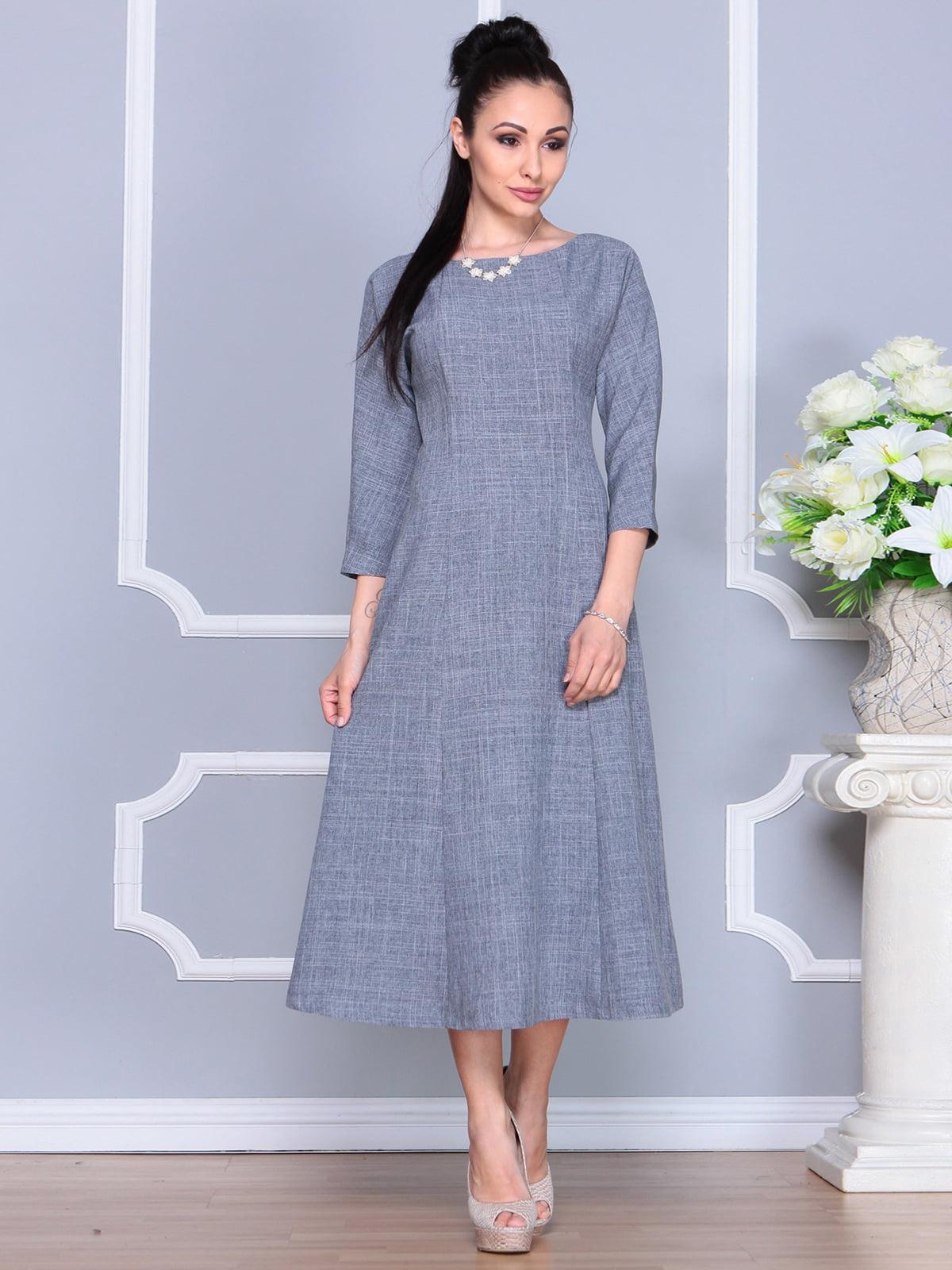 Платье дымчатого цвета | 4201134 | фото 3
