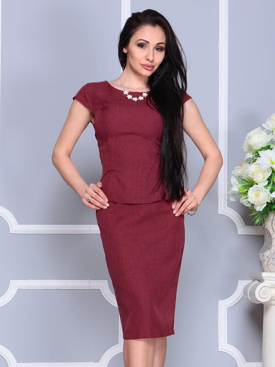 Костюм: блуза і спідниця | 4201141
