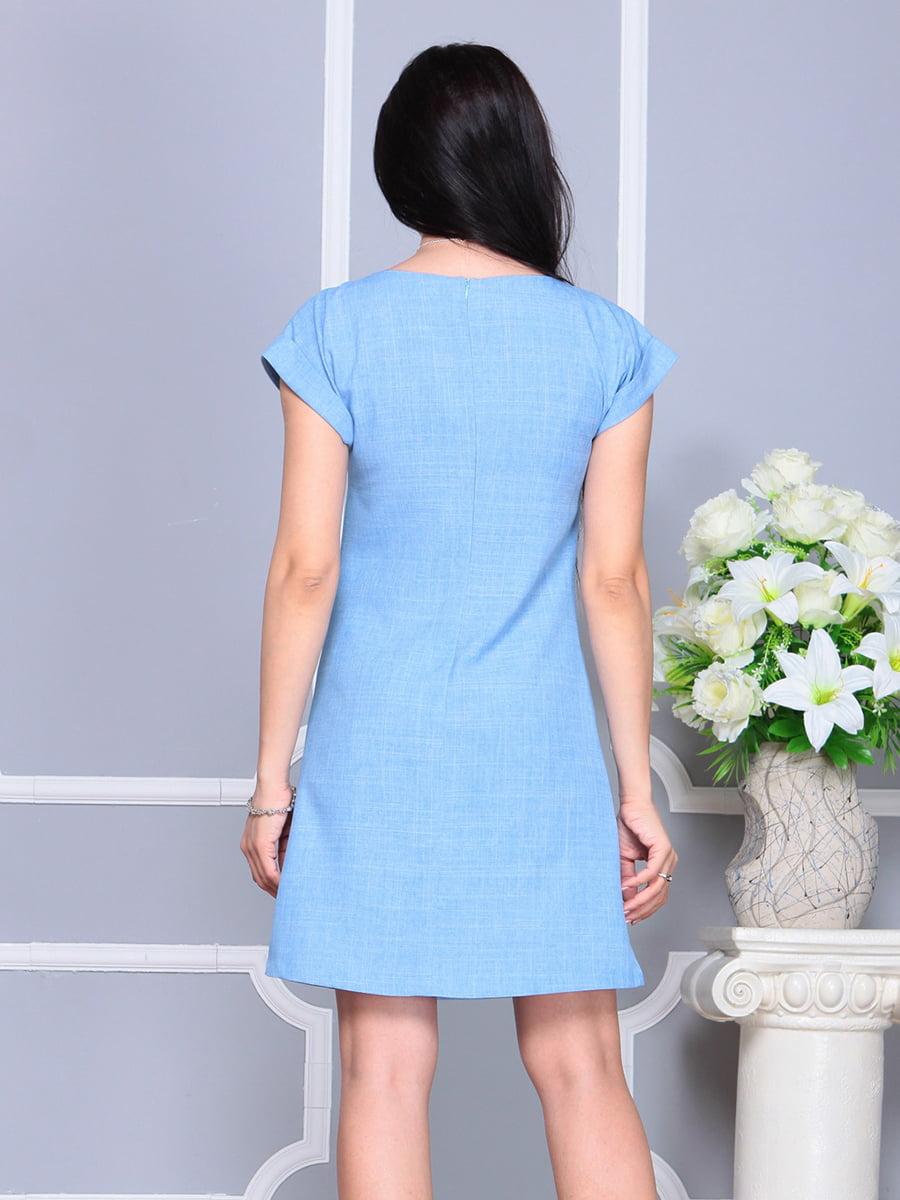 Платье голубое | 4201155 | фото 2