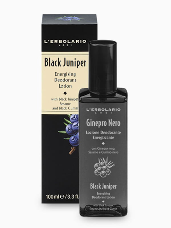 Лосьйон-дезодорант «Чорний ялівець» (100 мл) | 4196216