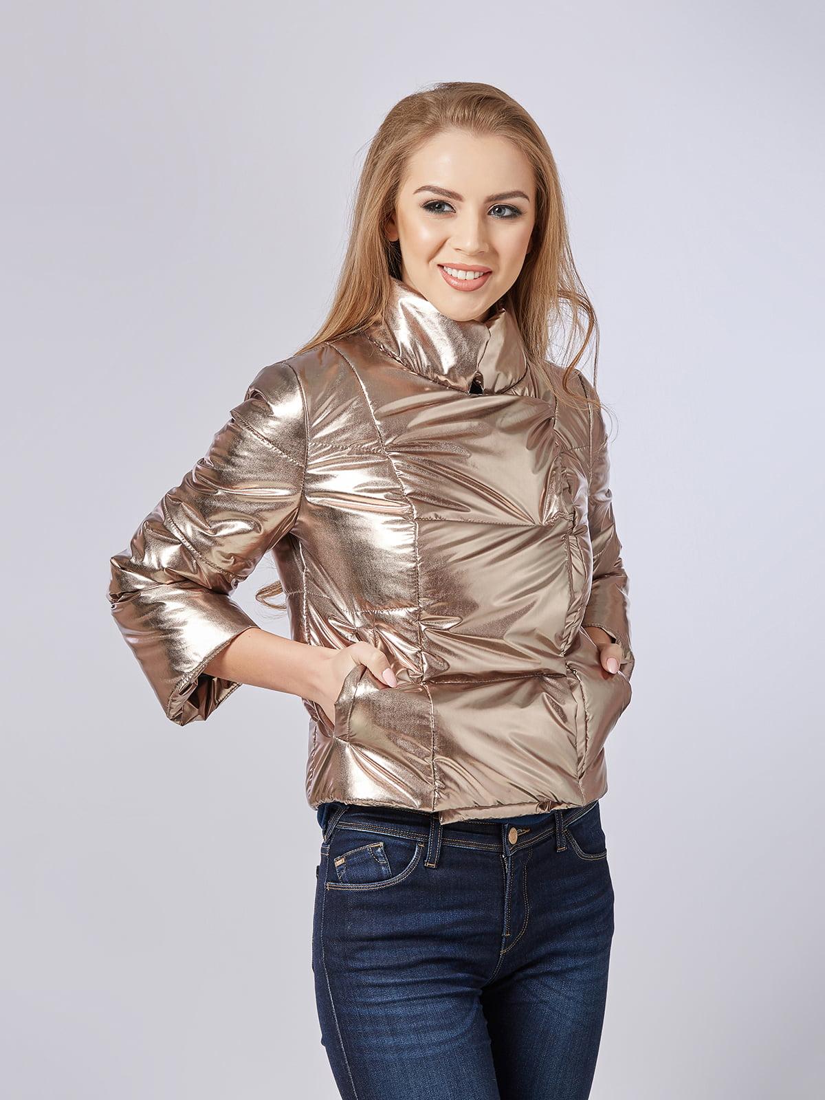 Куртка золотистая | 4202666