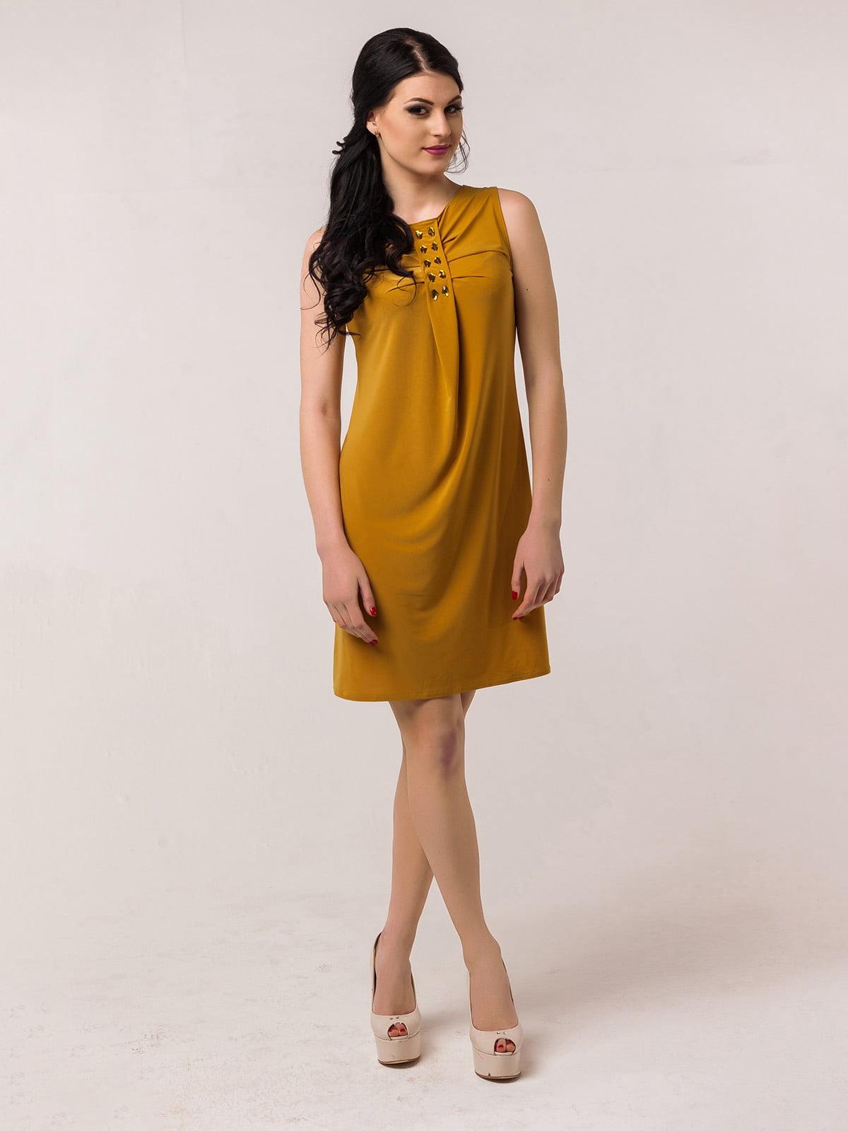 Сукня гірчичного кольору   2386042   фото 6