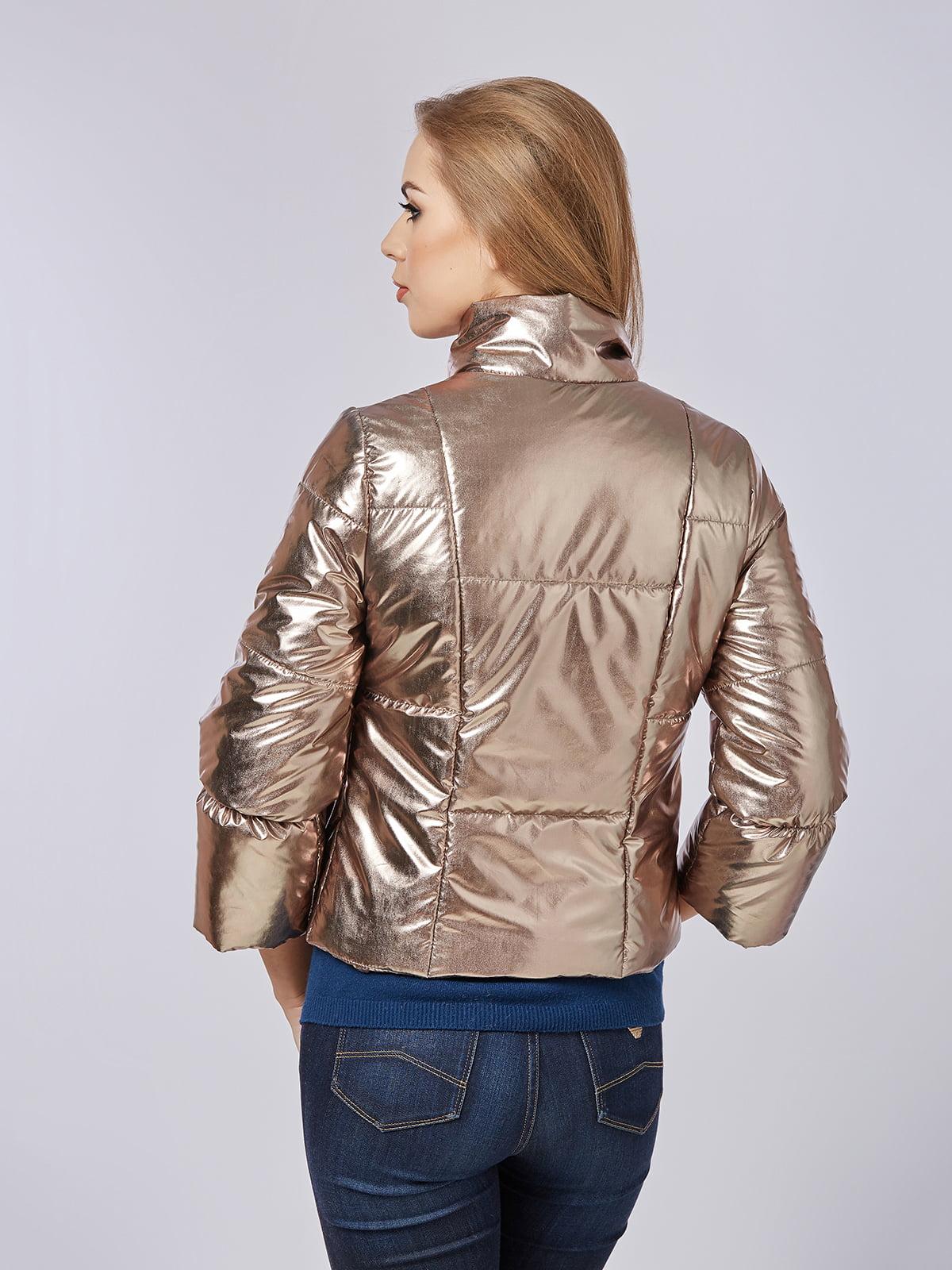 Куртка золотиста | 4202666 | фото 2