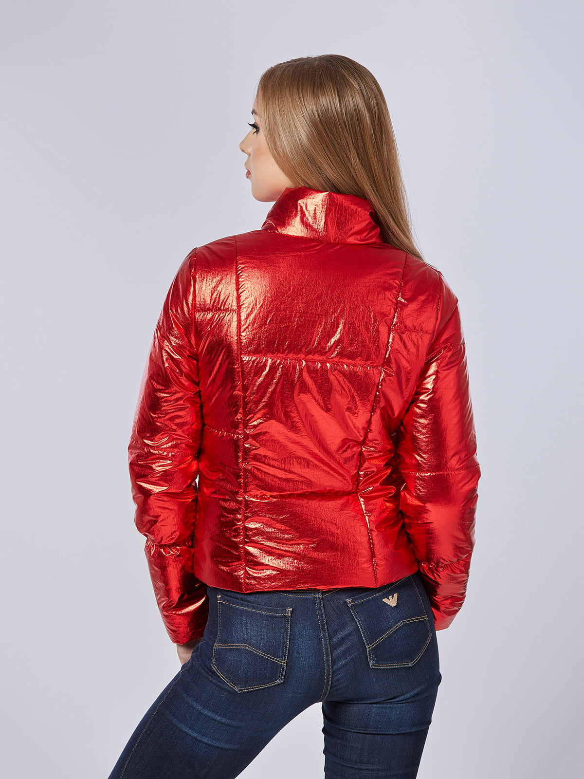Куртка червона | 4202667 | фото 2