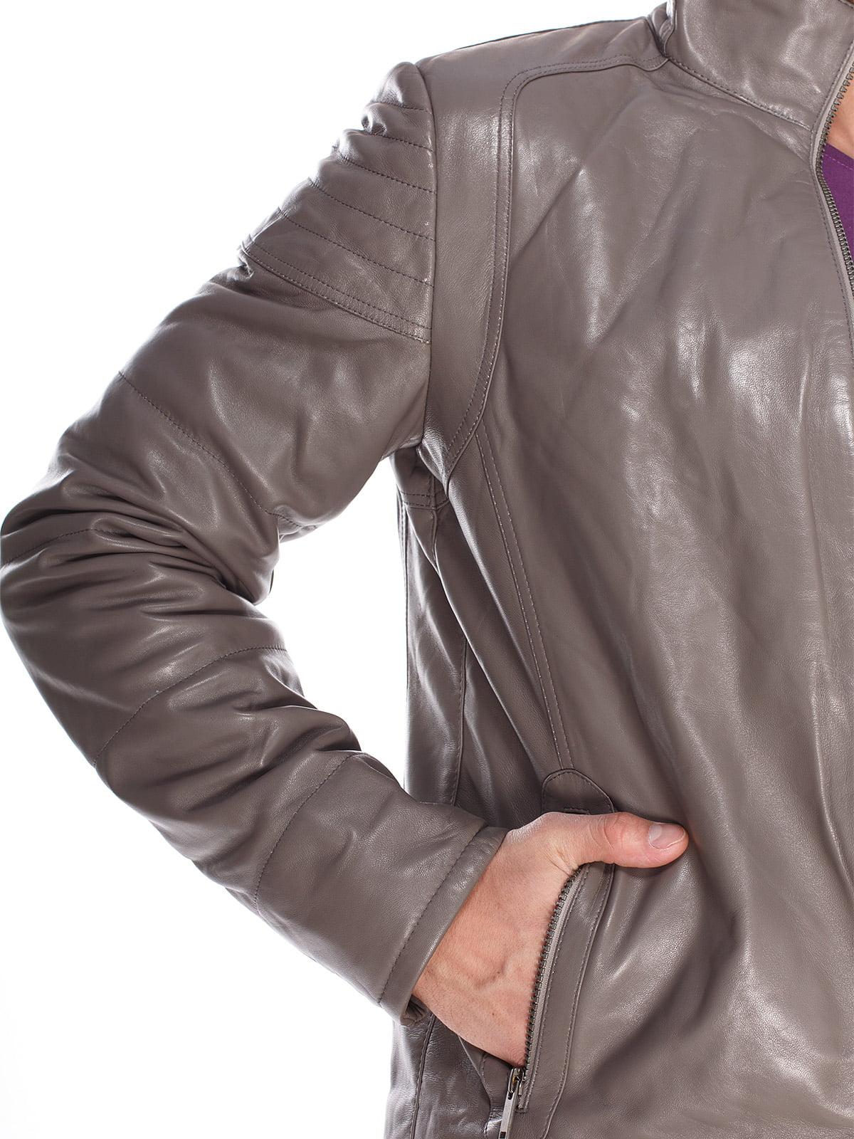 Куртка сіра | 4203732 | фото 3