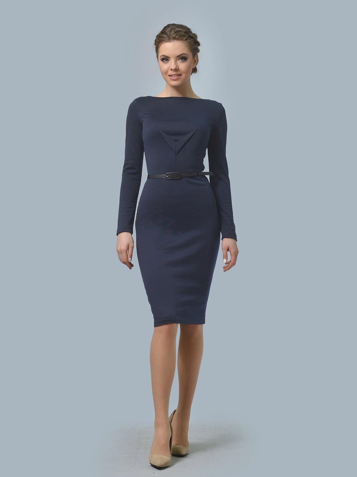 Сукня темно-синя | 4204293