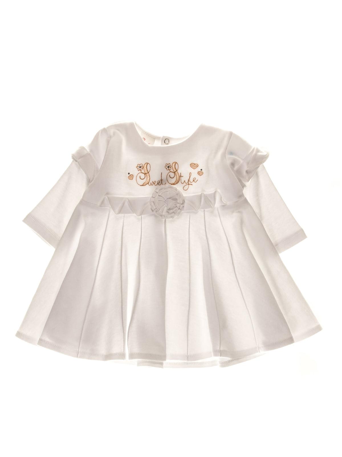 Платье белое | 3742122