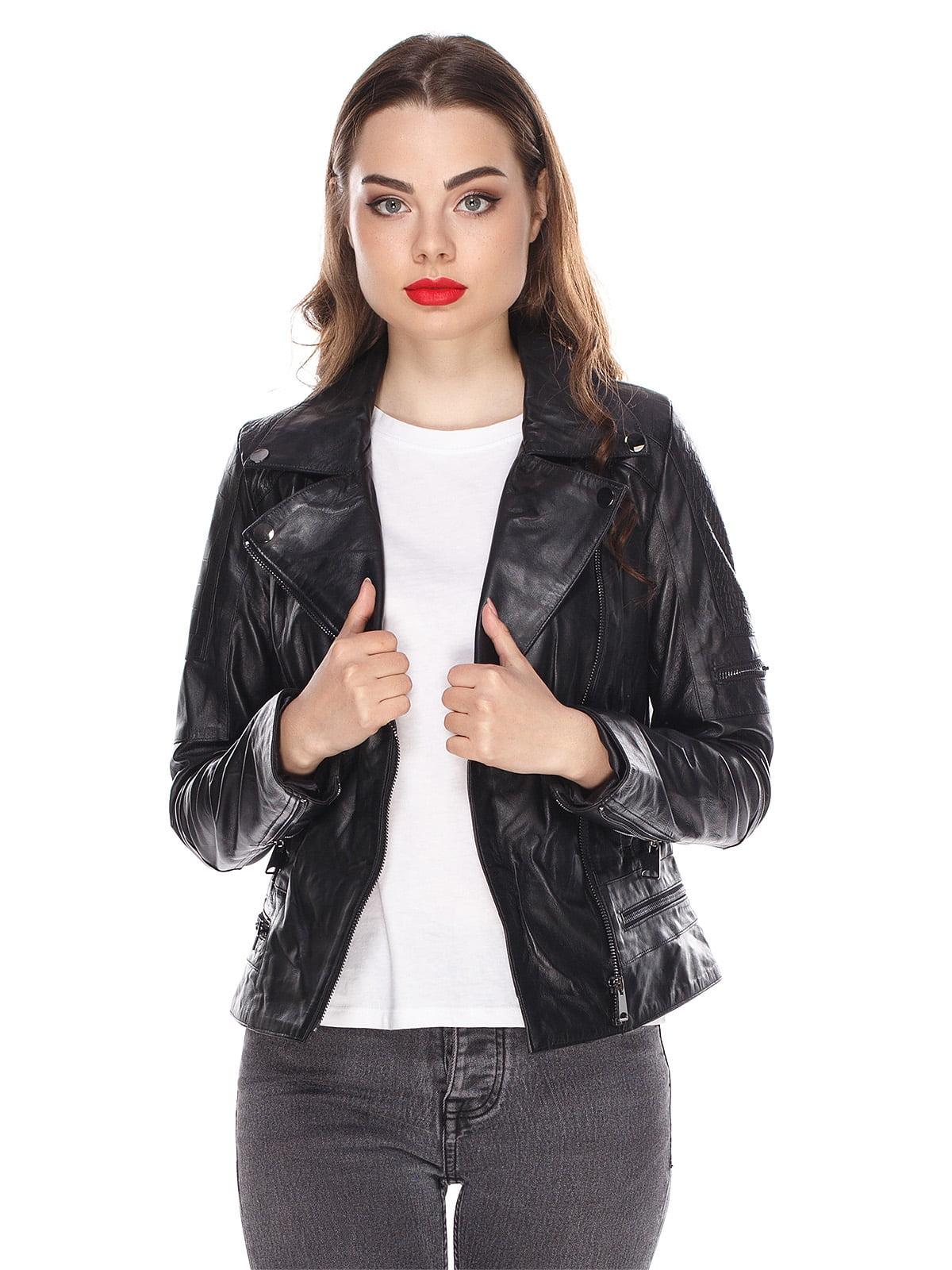 Куртка чорна | 4203725