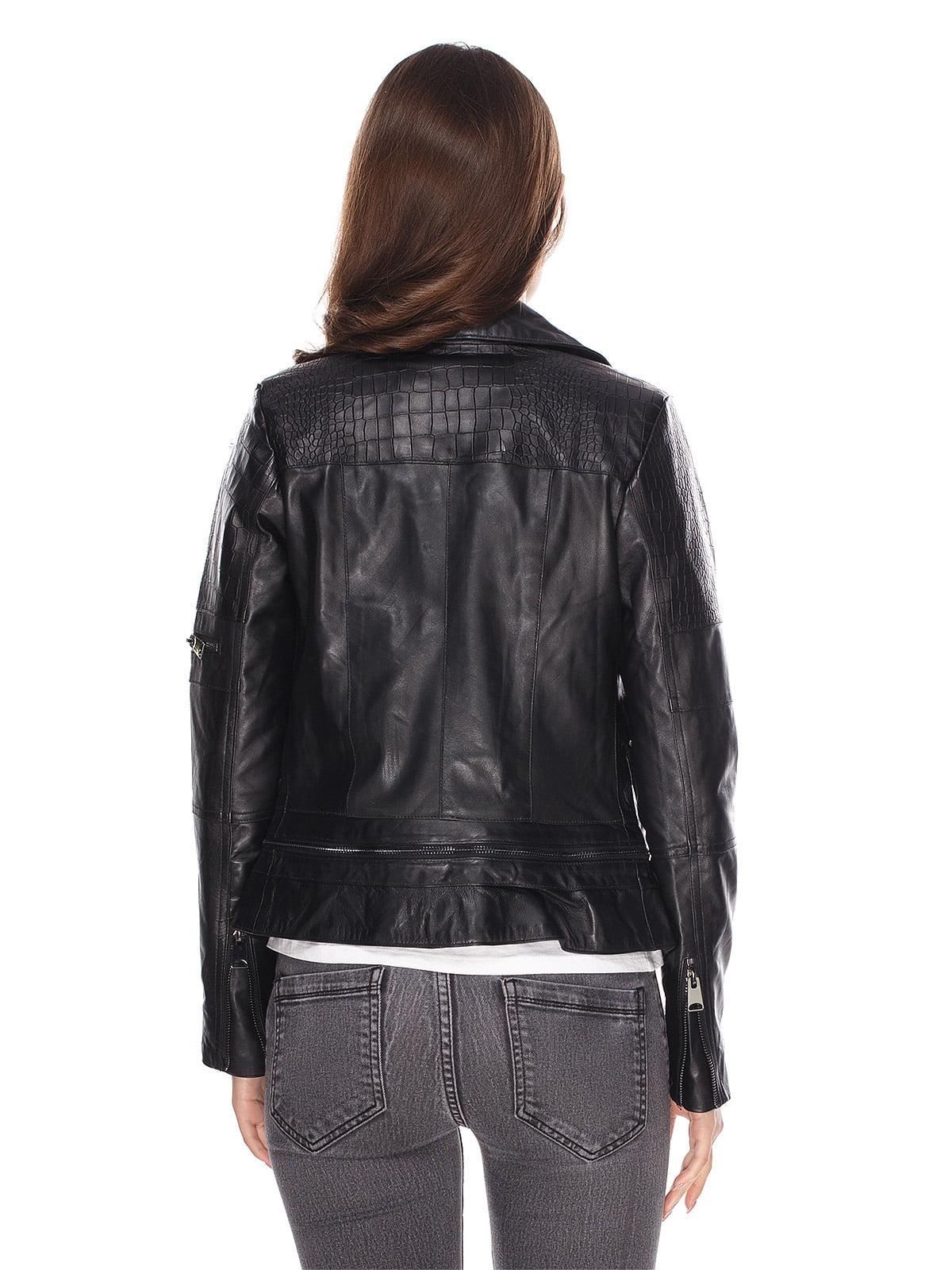 Куртка чорна | 4203725 | фото 2