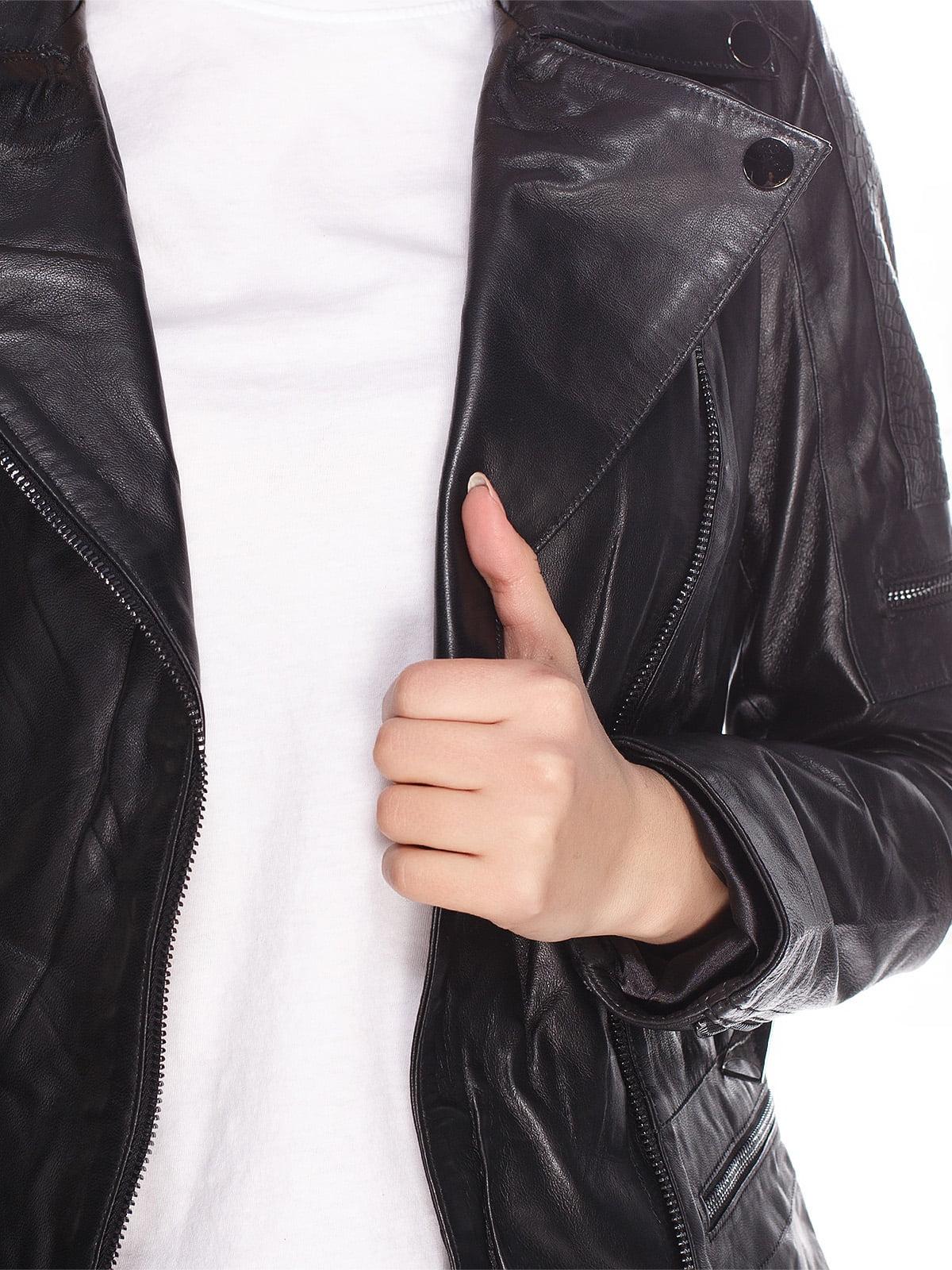 Куртка чорна | 4203725 | фото 3