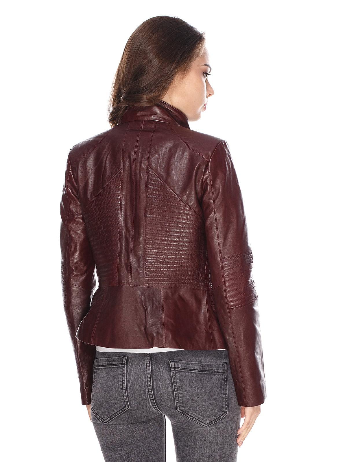 Куртка бордова | 4203720 | фото 2