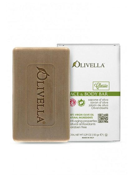 Мило для обличчя і тіла на основі оливкової олії (150 г) | 4210736