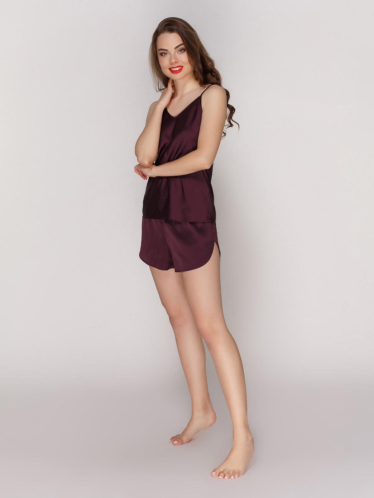Майка фіолетова піжамна | 4201171