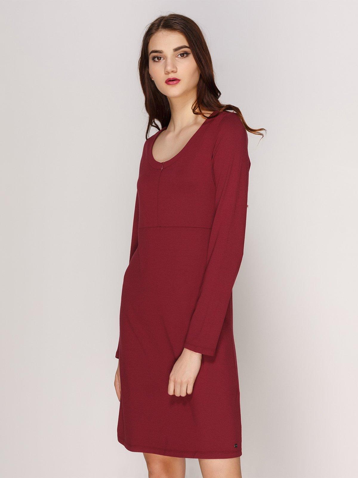 Сукня бордова | 3844704