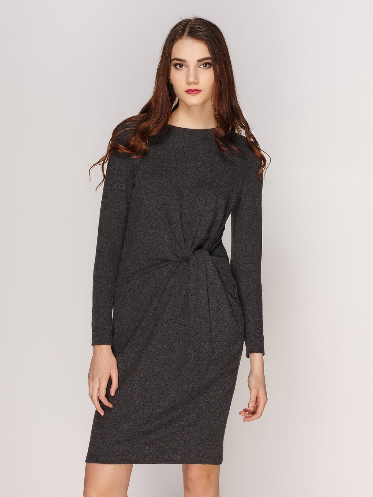 Сукня темно-сіра | 3844706