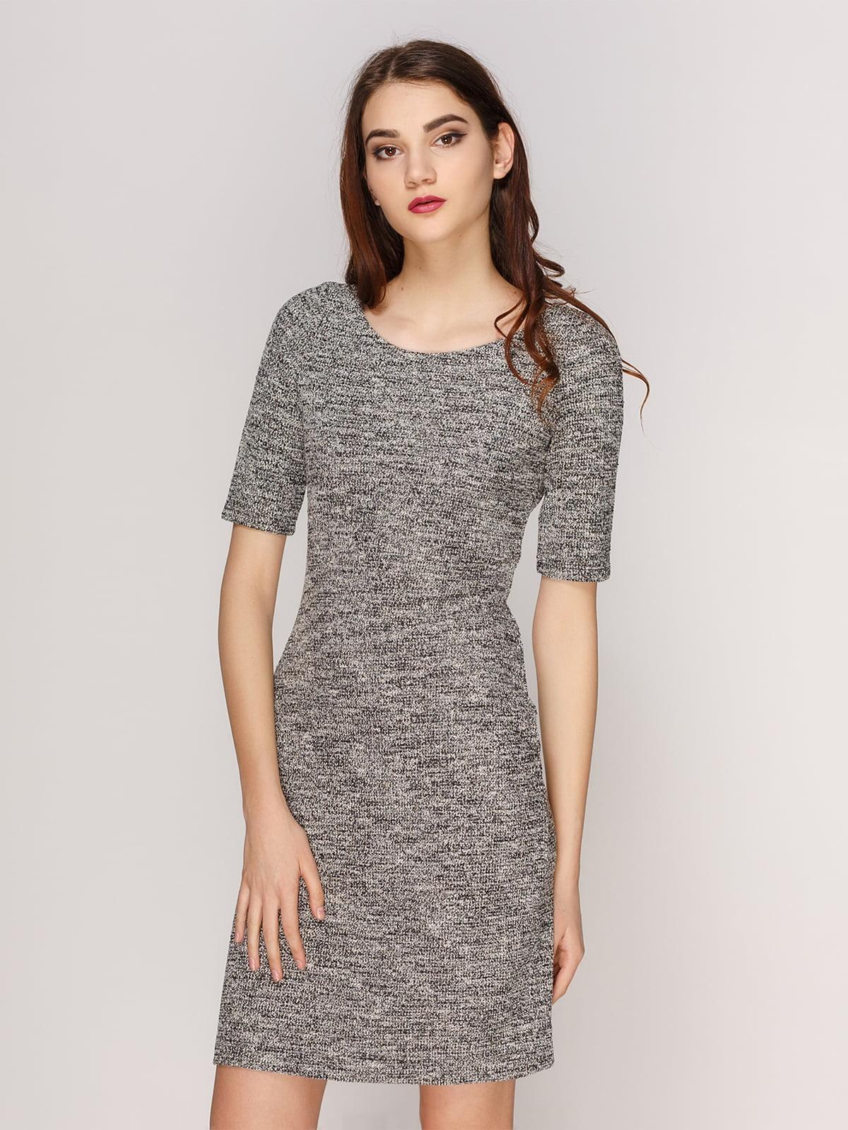 Платье серое | 4208708