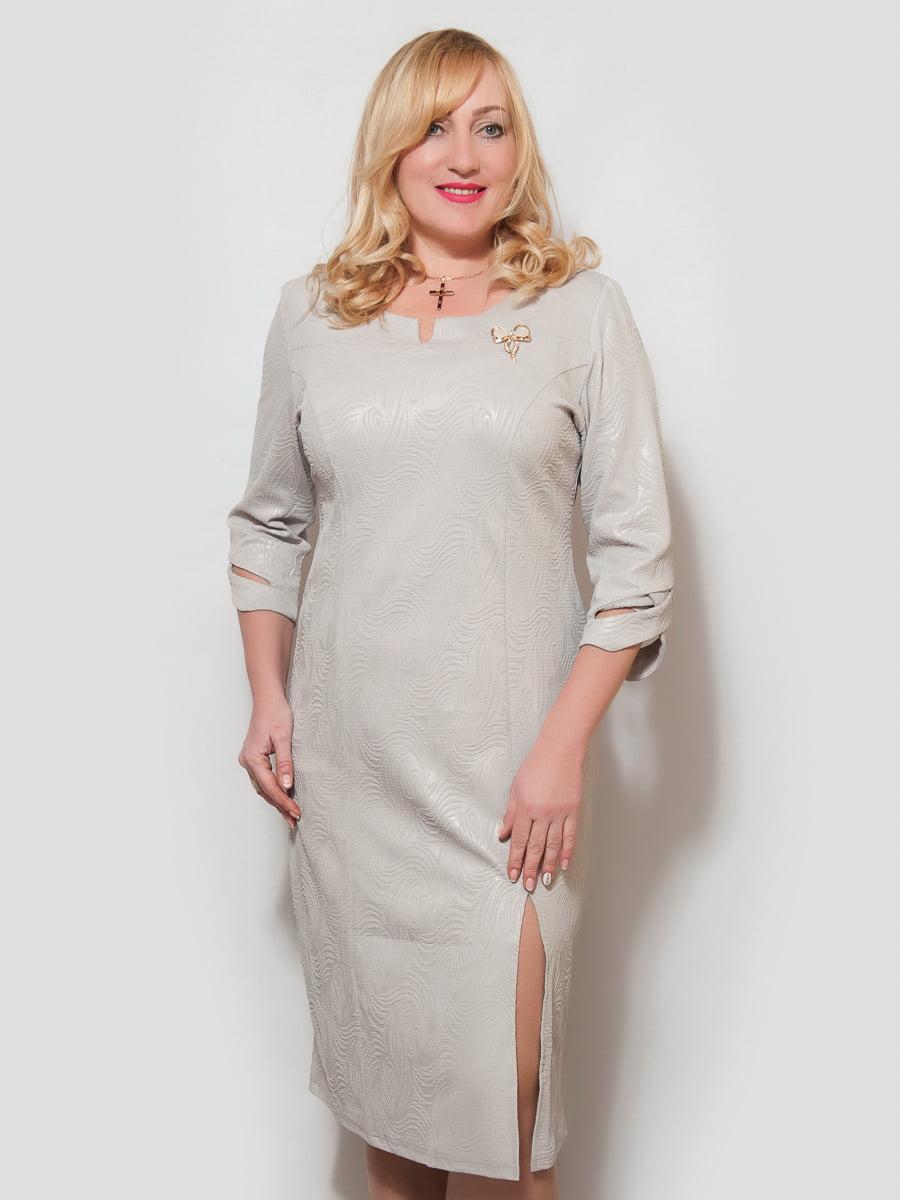 Платье серое | 4211919