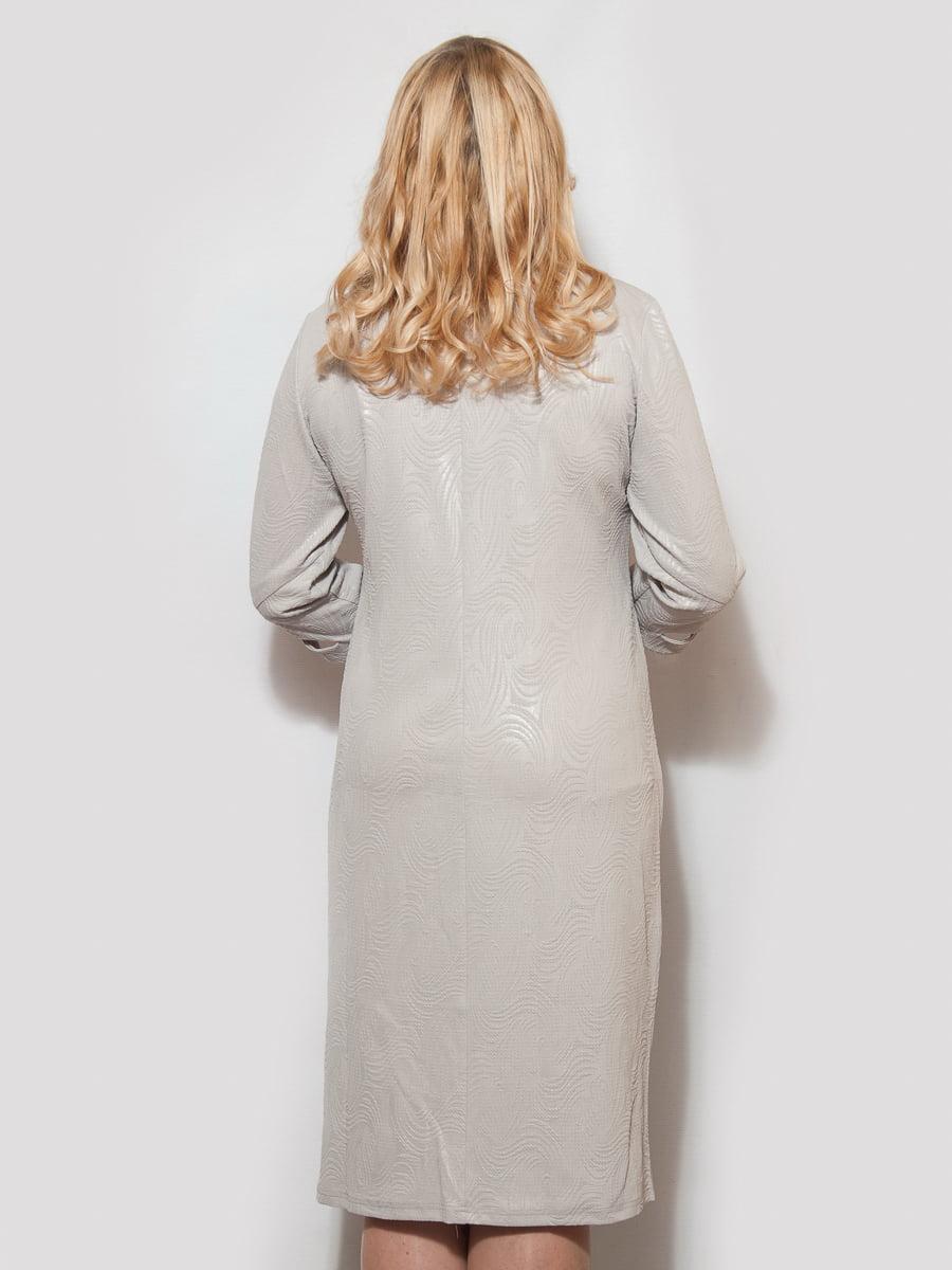 Платье серое | 4211919 | фото 2