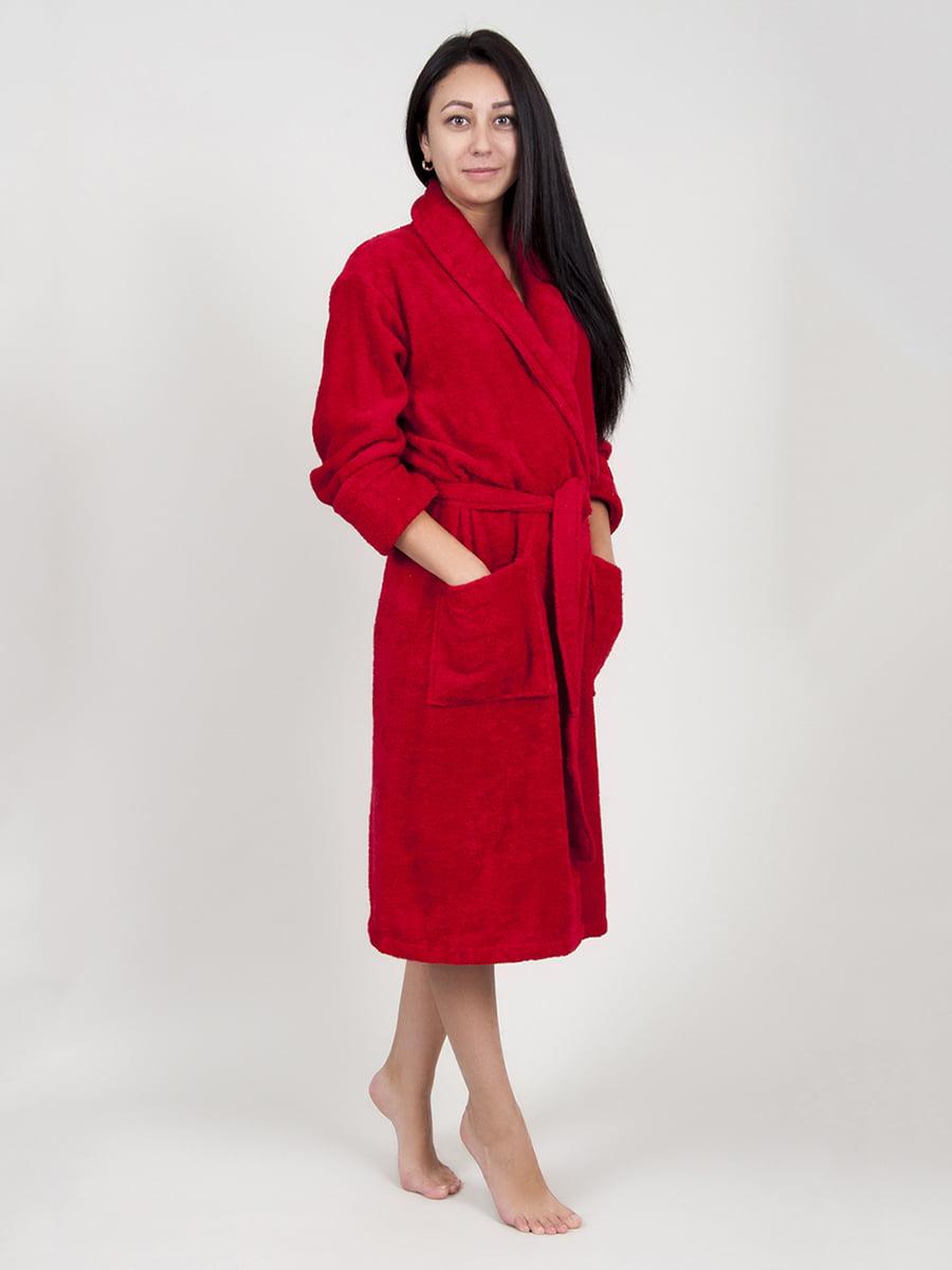 Халат красный | 4203643