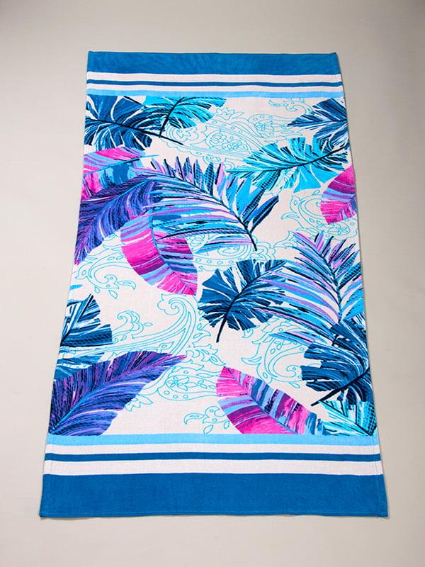 Рушник пляжний велюровий (75х150 см) | 4209618