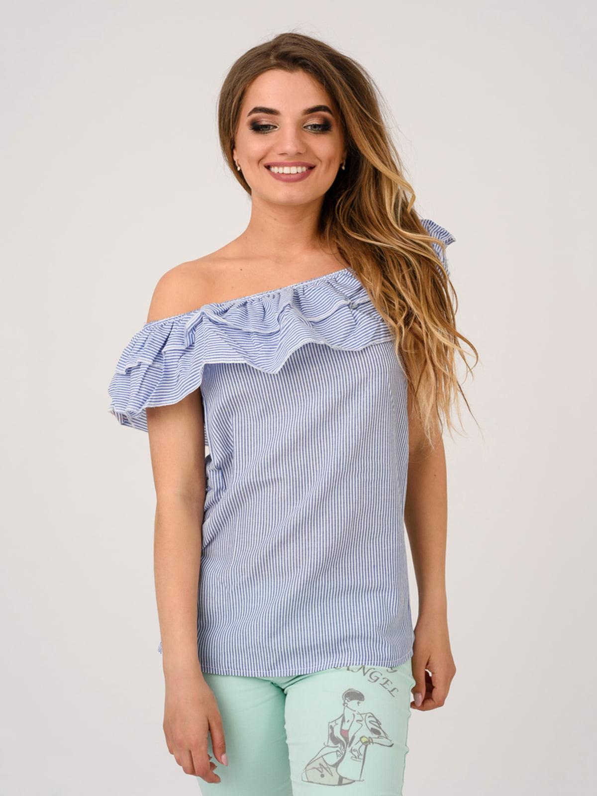 Блуза синя   4184484