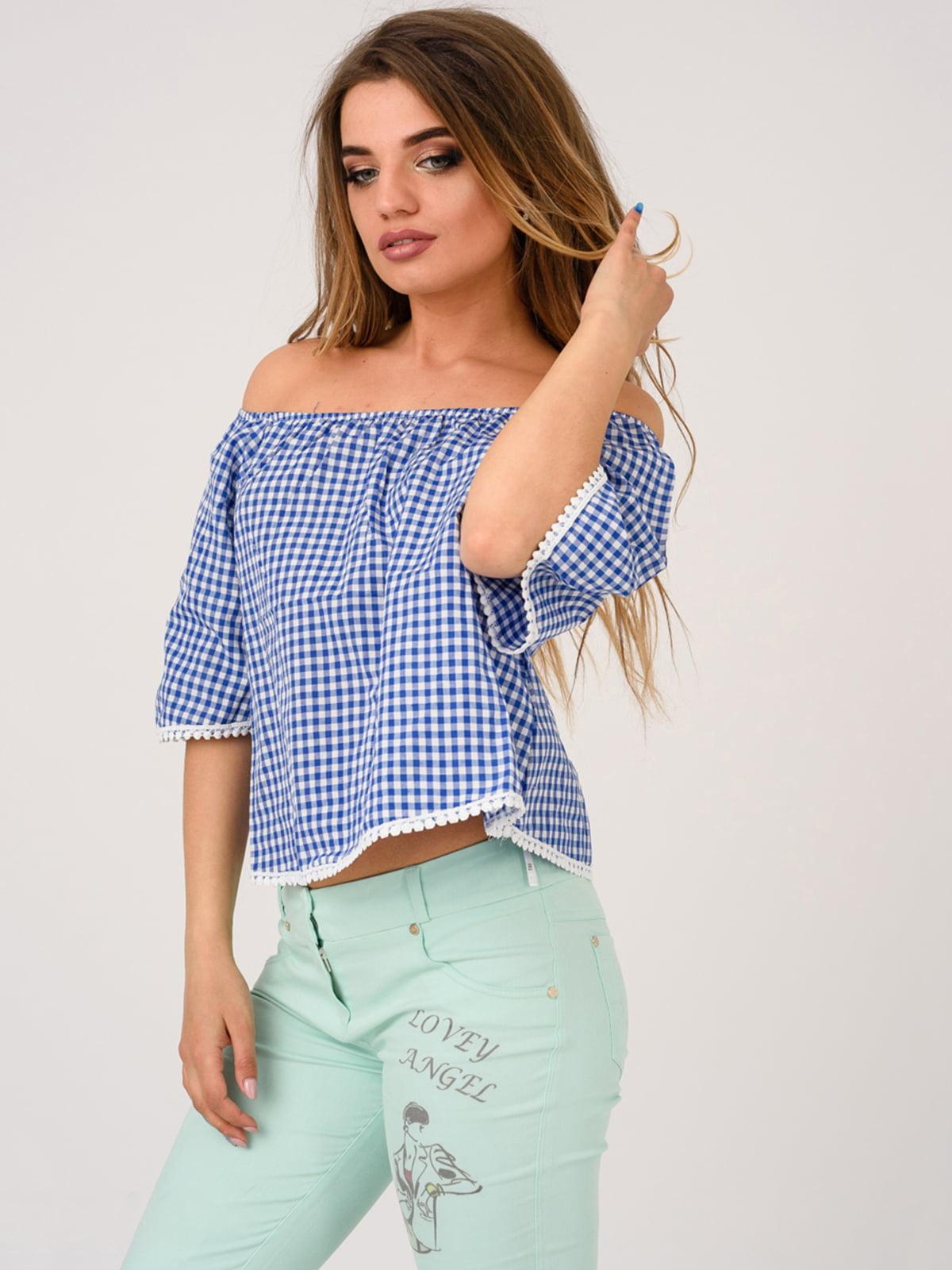 Блуза синя | 4184518