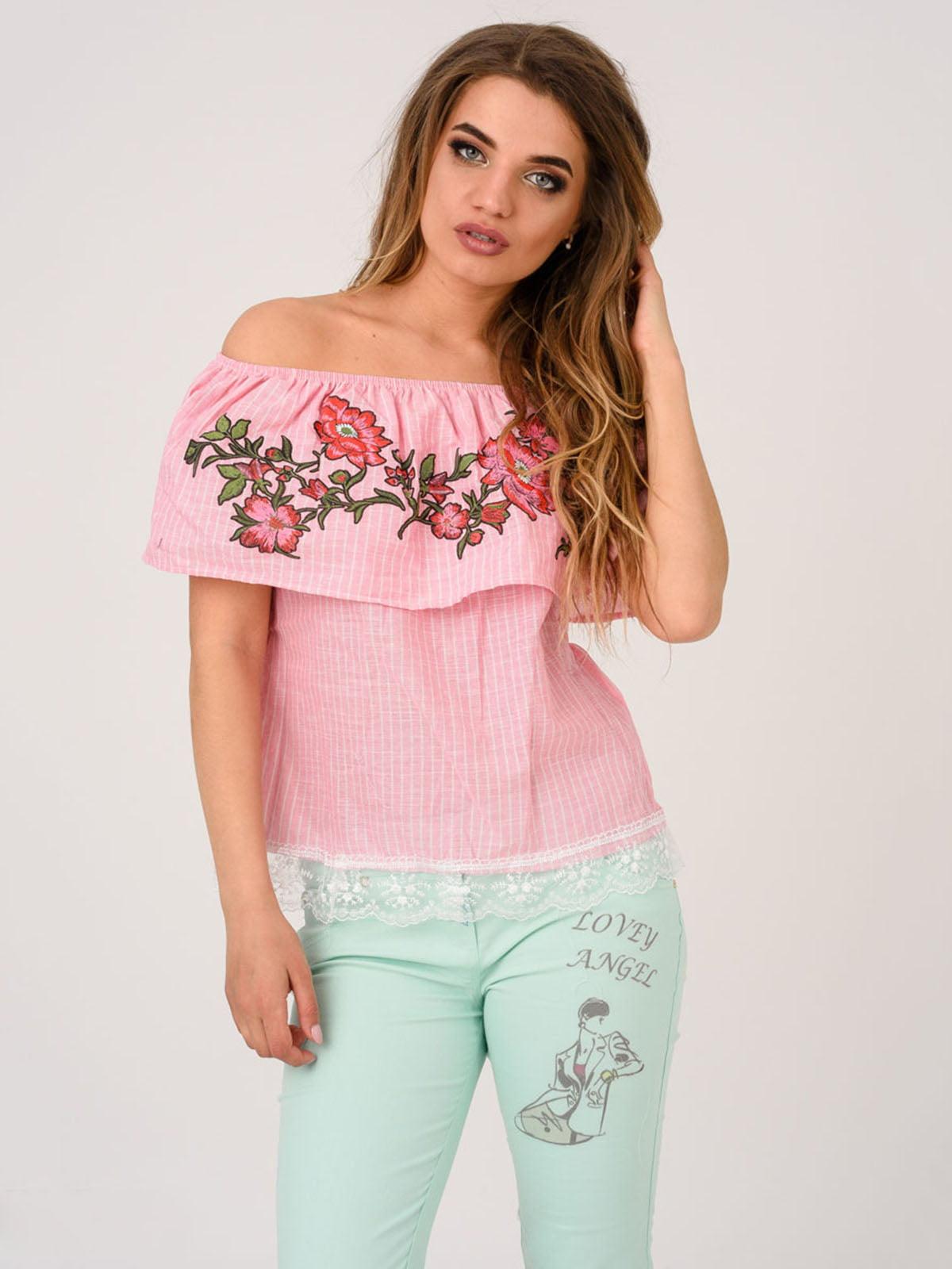 Блуза рожева | 4214508
