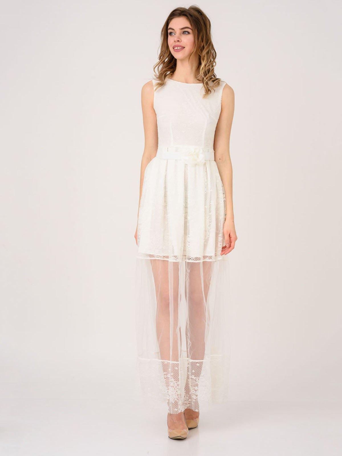 Сукня молочного кольору | 4214536