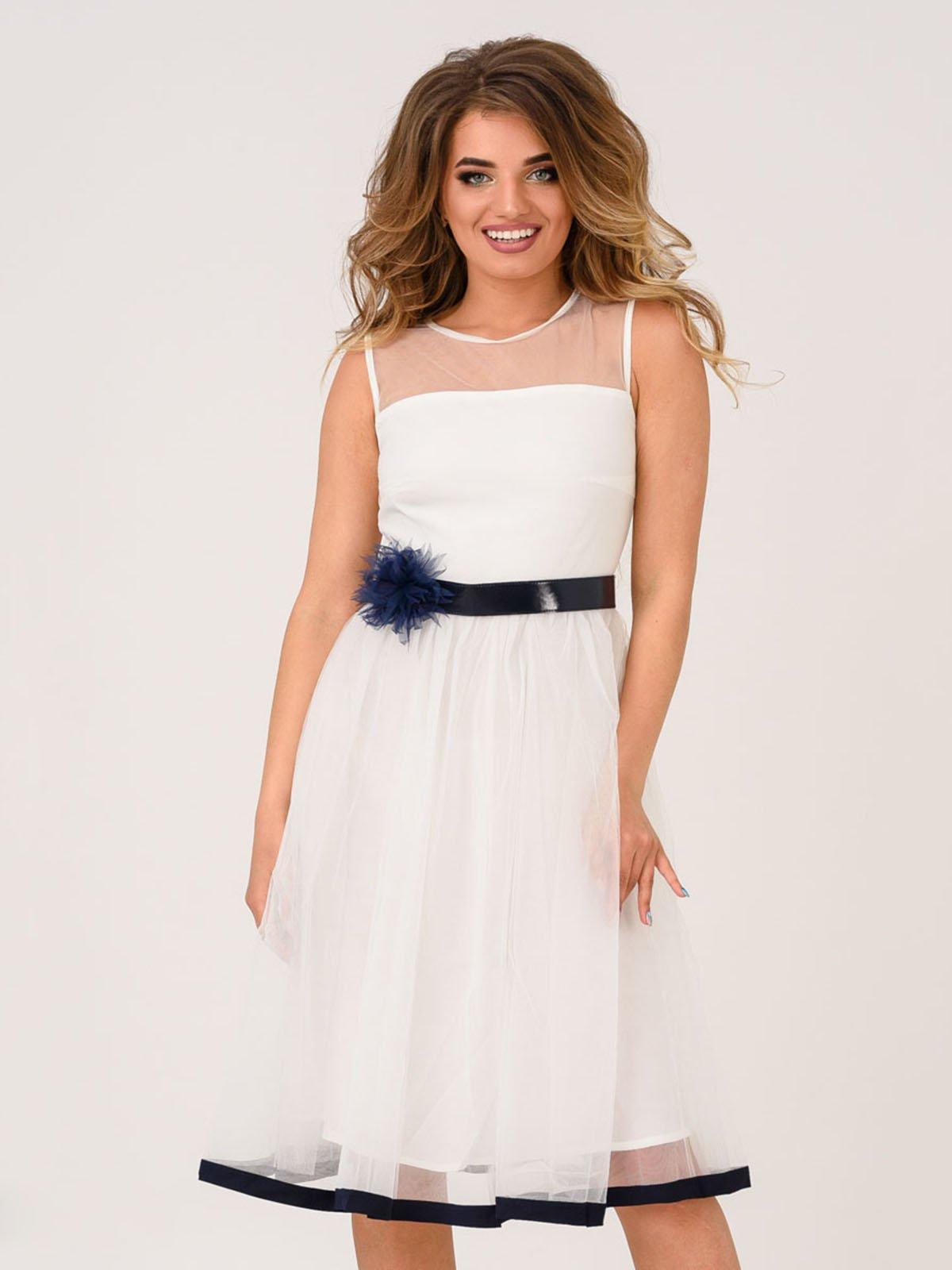 Платье белое | 4214593
