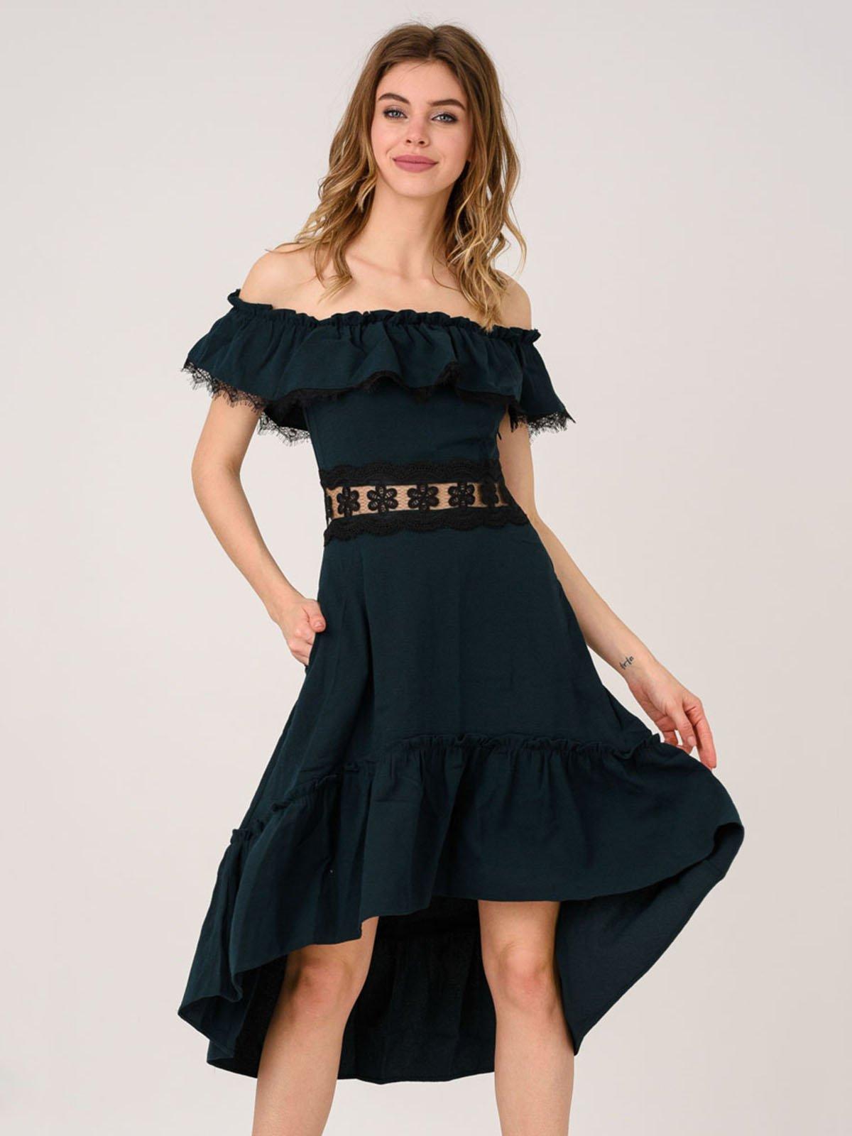 Сукня кольору хакі | 4214600