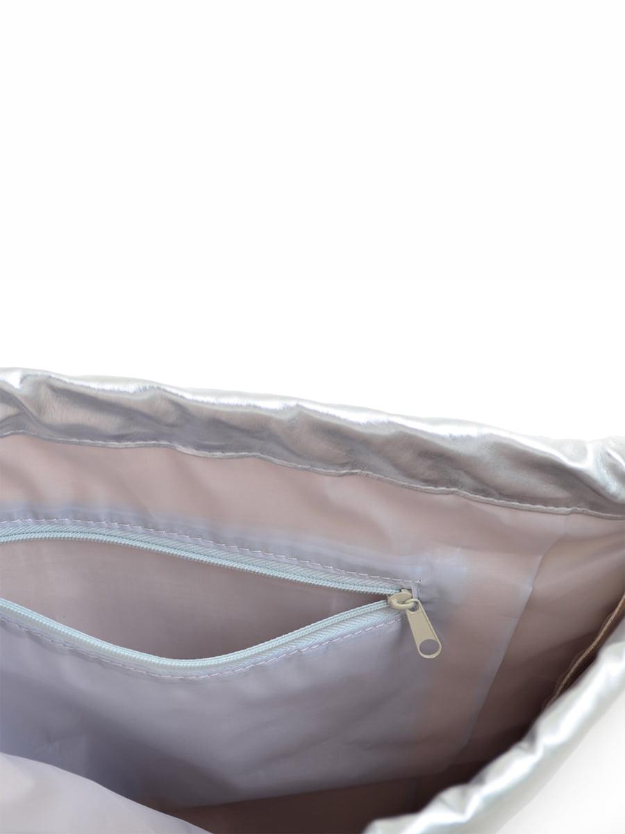 Сумка срібляста | 4214802 | фото 2