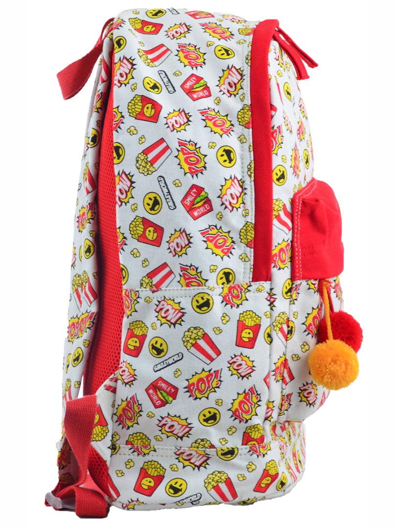 Рюкзак в різнобарвний принт | 4214863 | фото 2