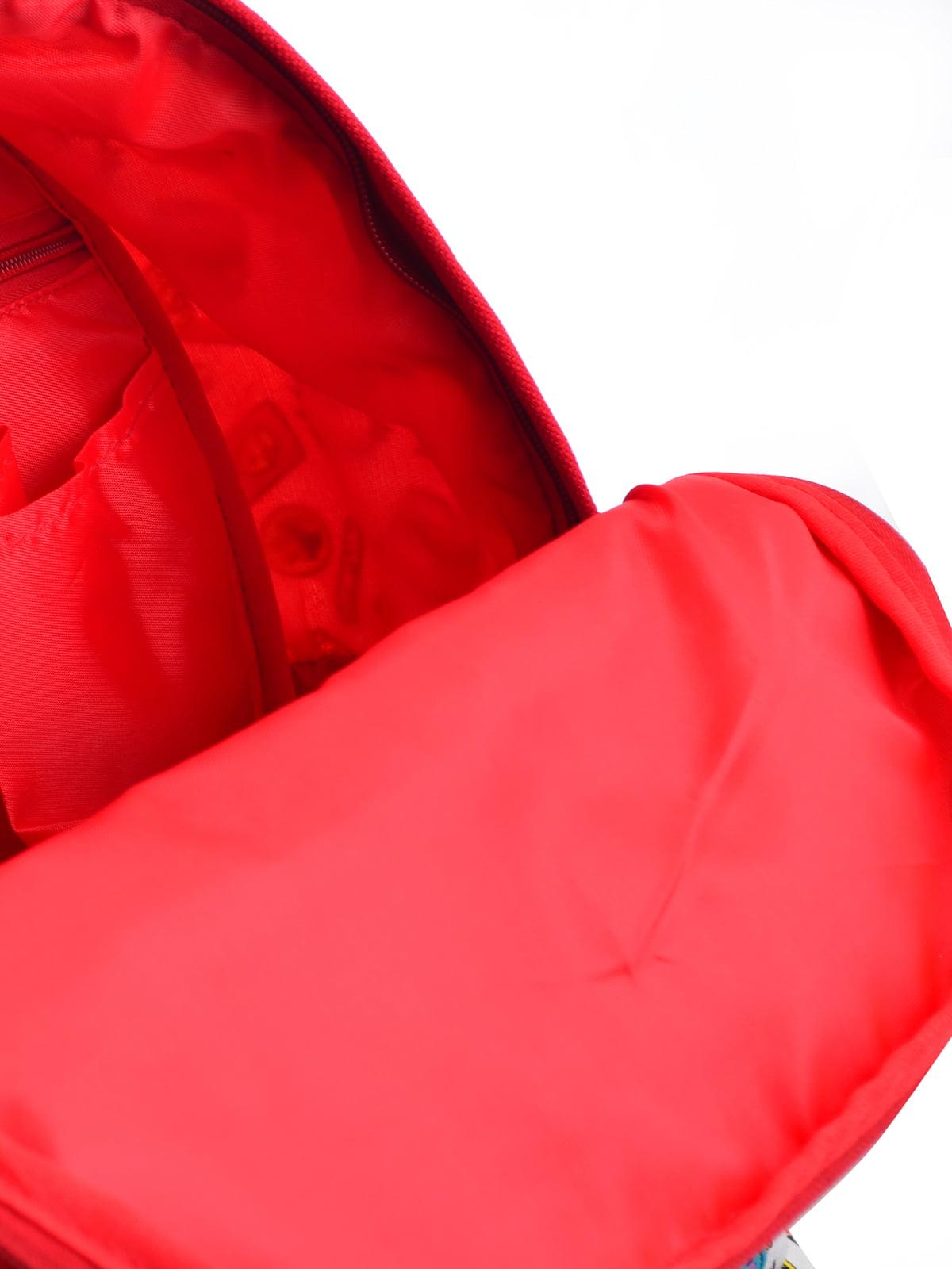 Рюкзак в різнобарвний принт | 4214863 | фото 5