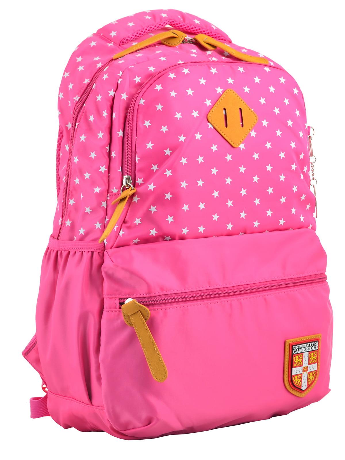 Рюкзак рожевий в горошок | 4214874