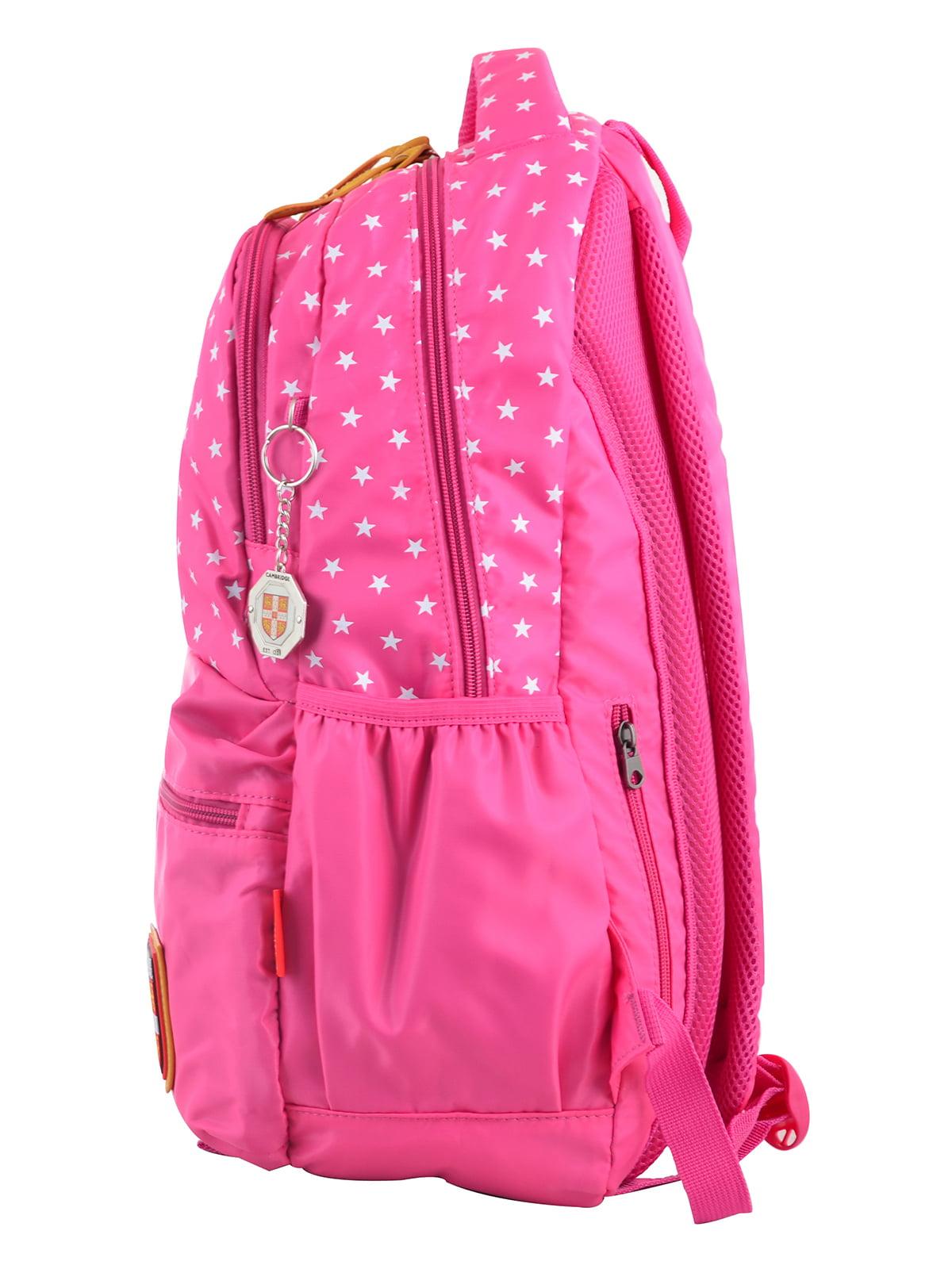 Рюкзак рожевий в горошок | 4214874 | фото 3